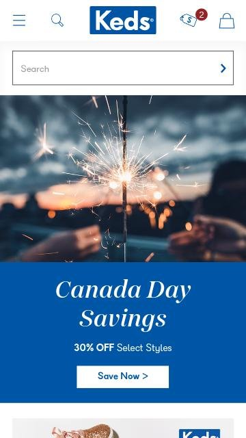 Keds.com 2