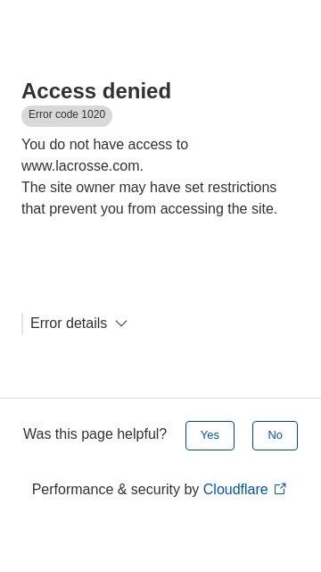 Lacrosse.com 2