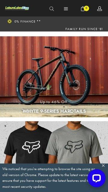 Leisurelakesbikes.com 2