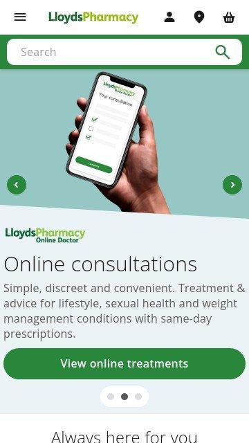 Lloyds pharmacy.com 2