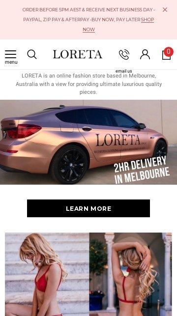 Loreta.com.au 2