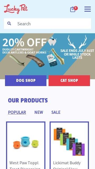 Luckypet.com.au 2