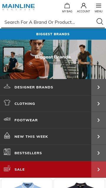 Mainlinemenswear.com 2