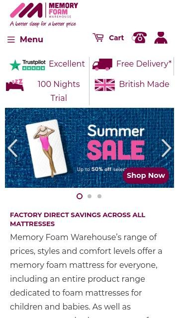 Memoryfoamwarehouse.co.uk 2