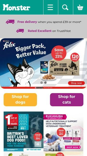 Monster Pet Supplies 2