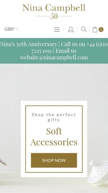Nina campbell.com 2