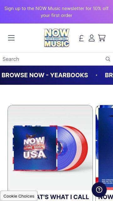 NowMusicStore.com 2
