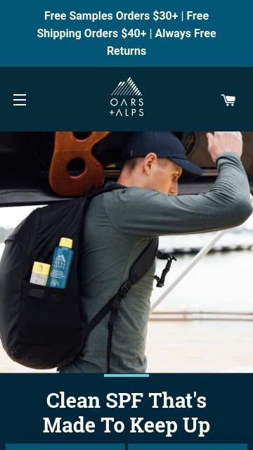 Oars and alps.com 2