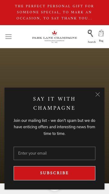 Parklanechampagne.co.uk 2