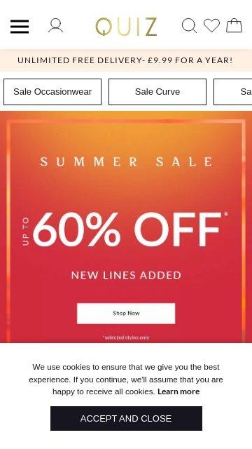 Quiz clothing.co.uk 2