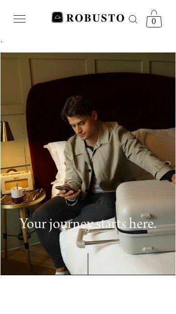 Robusto luggage.com 2