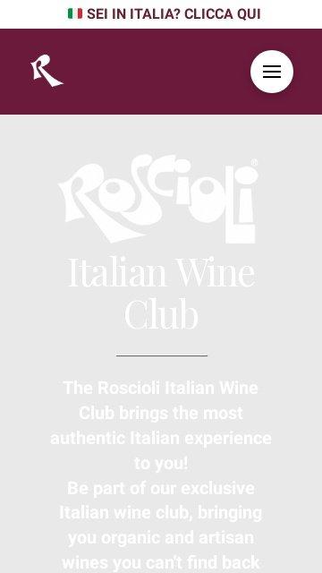 Roscioli wine club.com 2