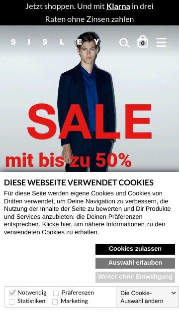 Sisley.com Germany 2
