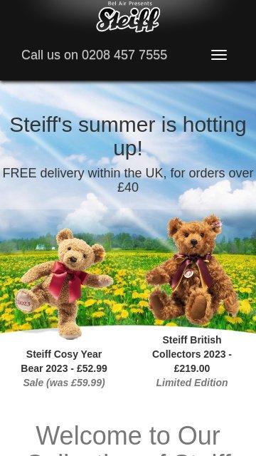 Steiff teddy bears 2