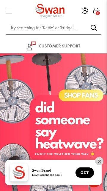 Swan-brand.co.uk 2