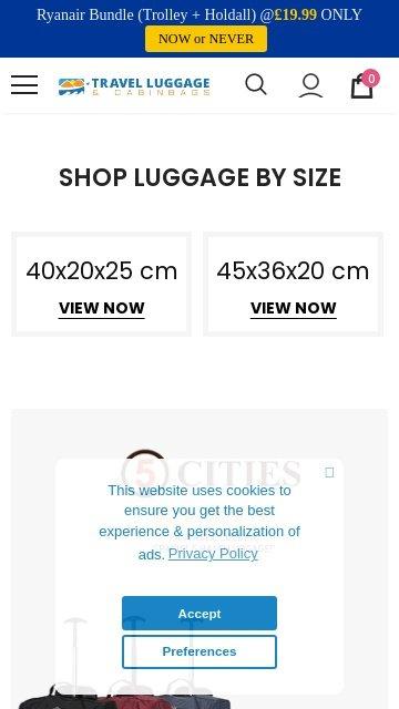 TravelLuggageCabinBags.com 2