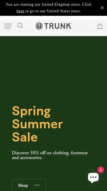 TrunkClothiers.com 2