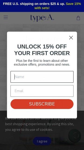 Typeadeodorant.com 2