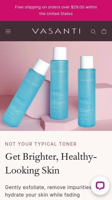 Vasanti cosmetics.com 2