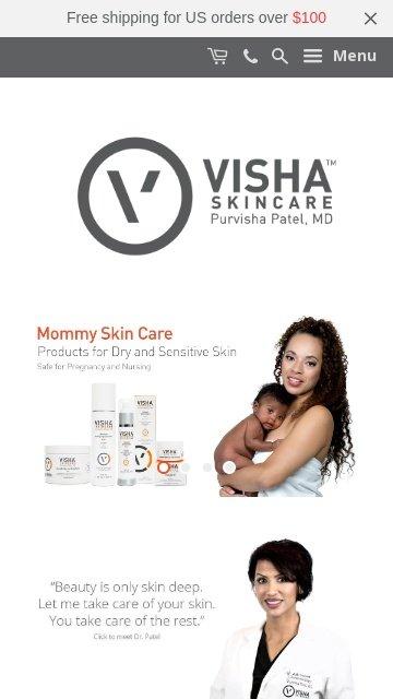 Vishaskincare.com 2