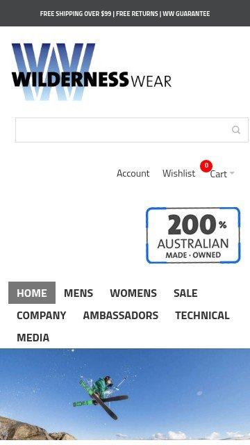 Wildernesswear.com.au 2