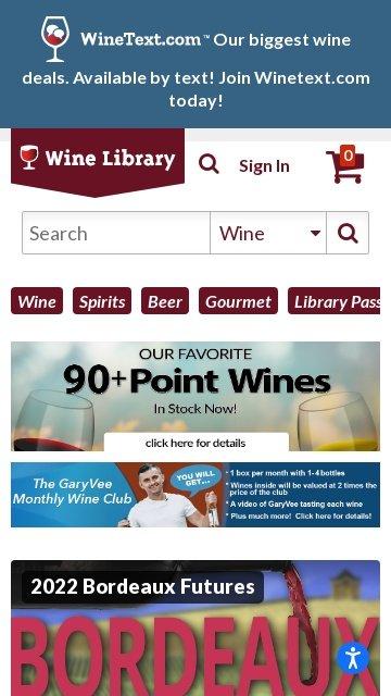 Wine library.com 2